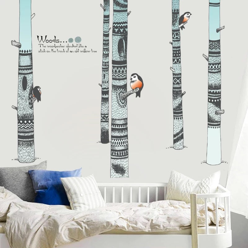 Forest Wall Decal For Nursery