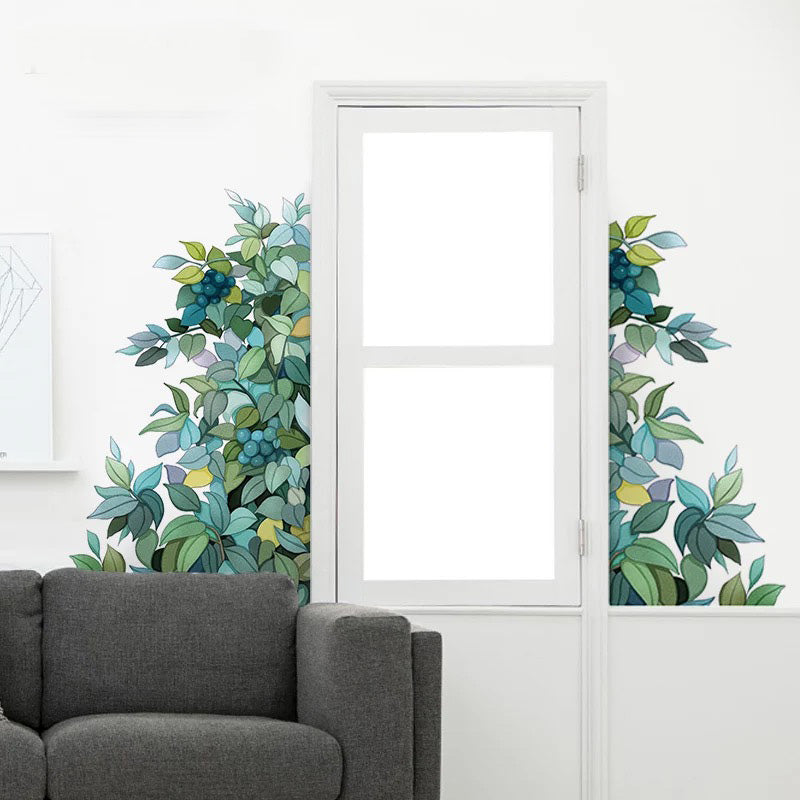 Leaf Wall Decals The Treasure Thrift