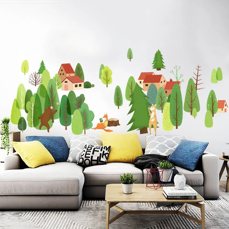 Animals & Trees Wall Stickers