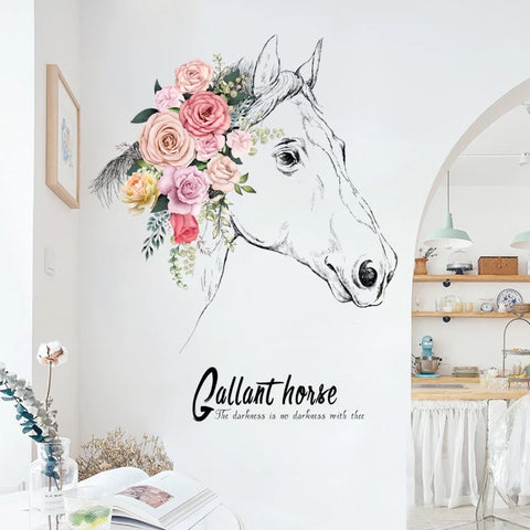 Gallant Horse Wall Stickers