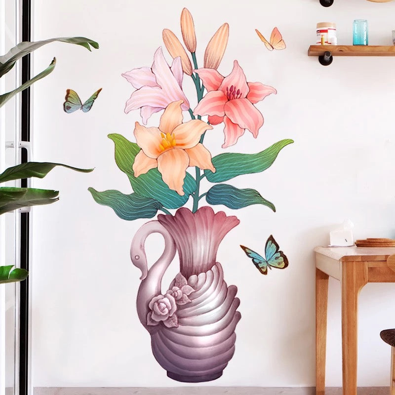 Lily Flowers Wall decals