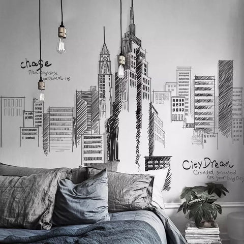 City Space Wall Stickers
