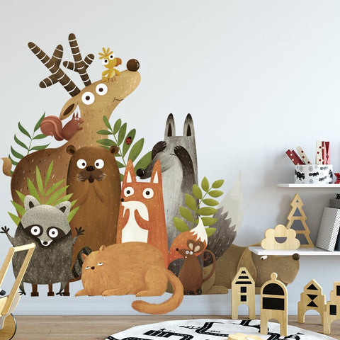 Animals Wall Stickers For Nursery