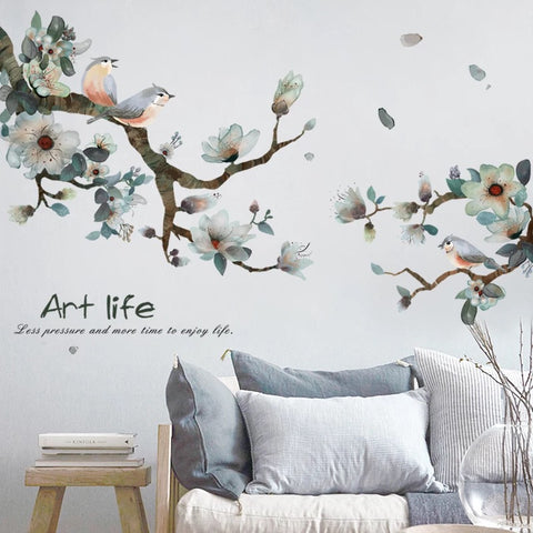 Branch & Birds Wall Decals