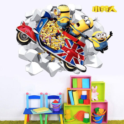 Minions Decals