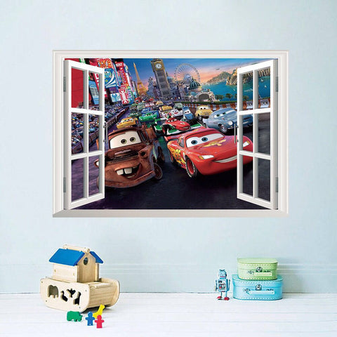 Disney.pixar Cars Wall Decals