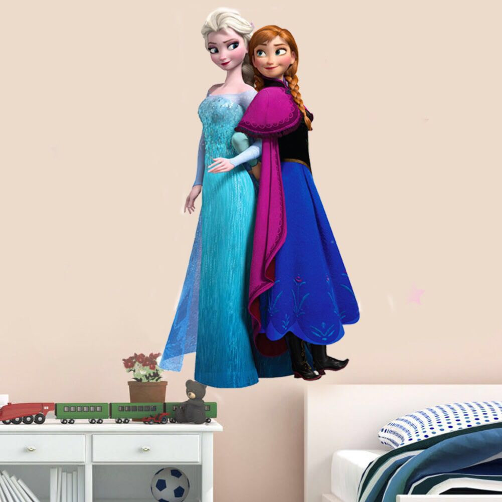 Disney Frozen Elsa & Anna Wall Decals