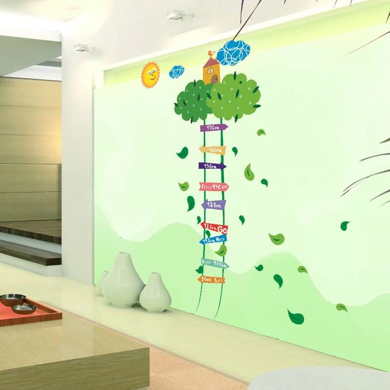 Child Height Chart Wall Decal