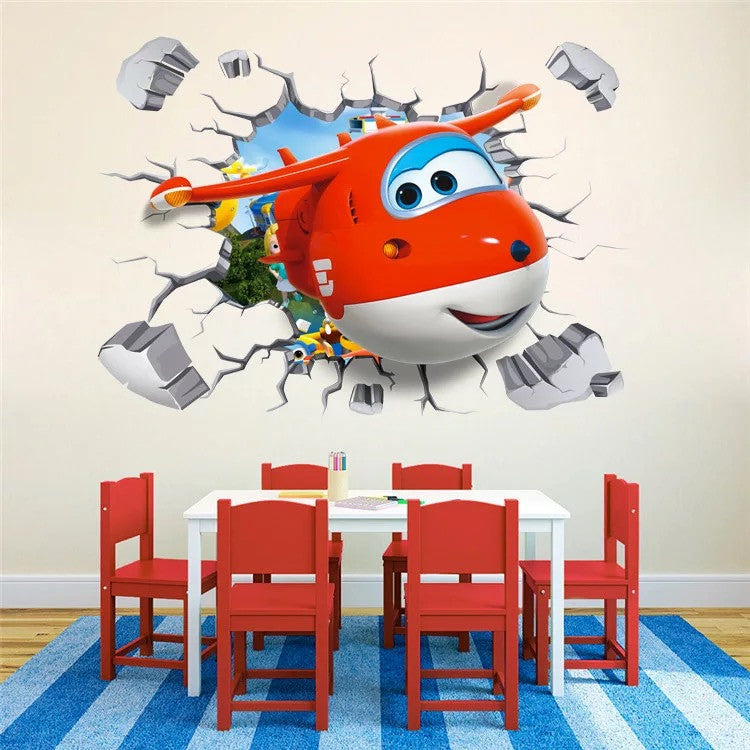 Superwings Wall Decal