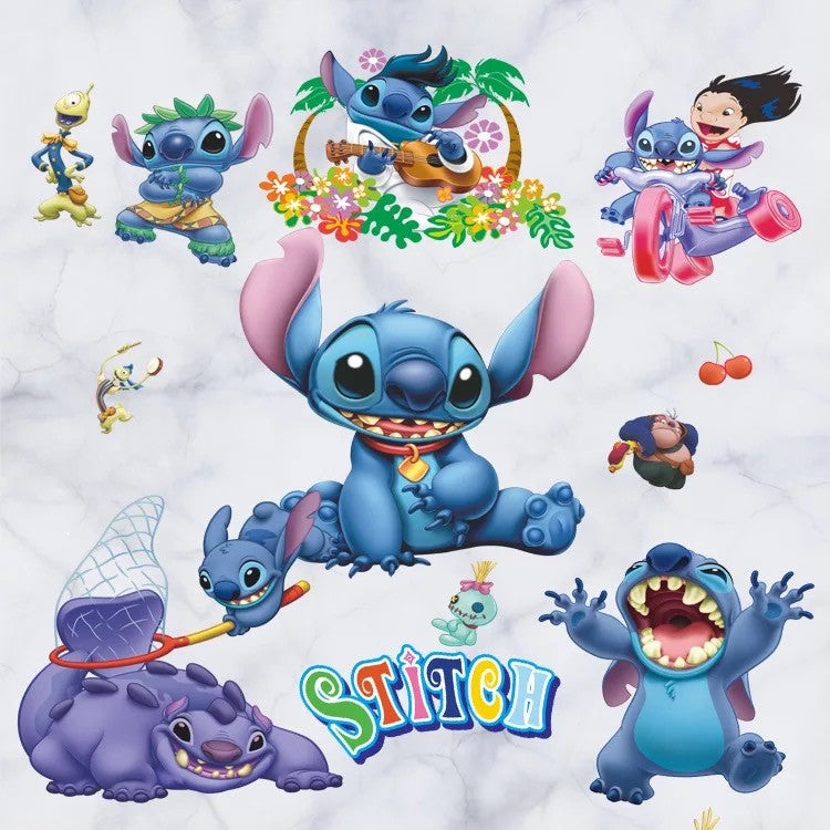 Lilo & Stitch Wall Stickers
