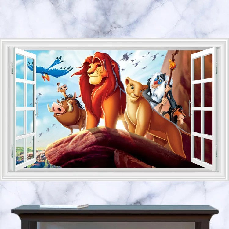 Lion King Wall Decals The Treasure Thrift