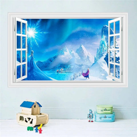 Disney Frozen Elsa &Anna Wall Stickers