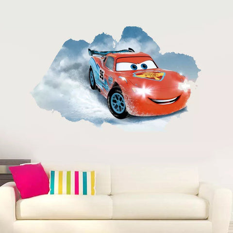 Lighting Car Wall Decals & Wall Stickers