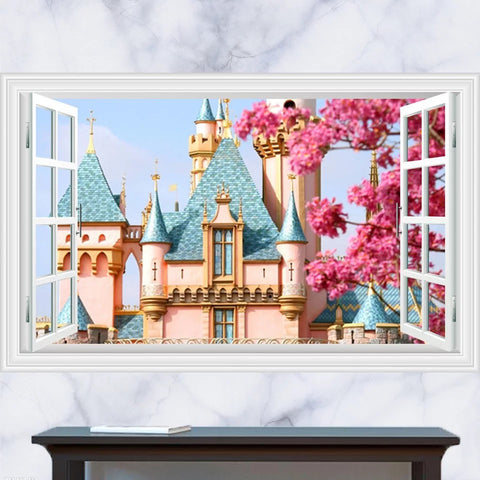 Disney Castle Wall Decals