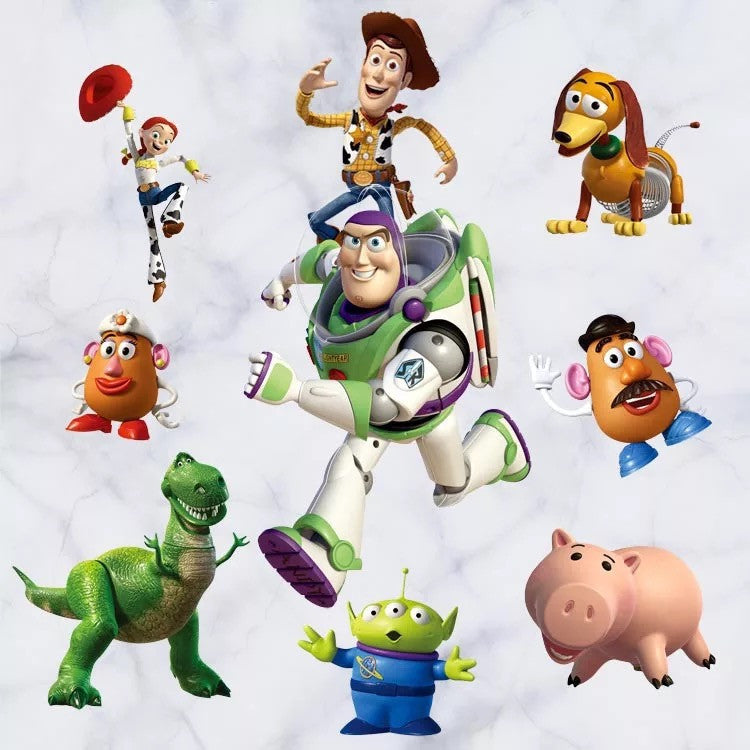 Toy Story Characters Wall Decals