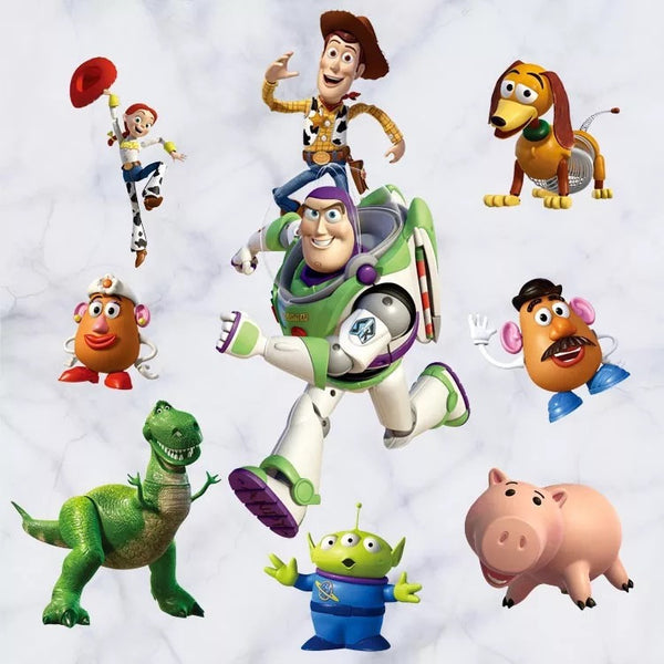 Toy Story Characters Wall Decals The Treasure Thrift