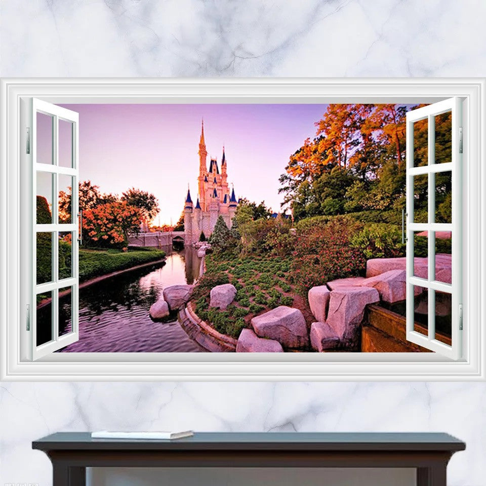 Disney Castle Nursery Wall Decals