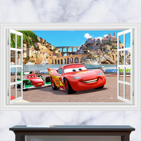 Disney Cars Lightning McQueen Wall Stickers