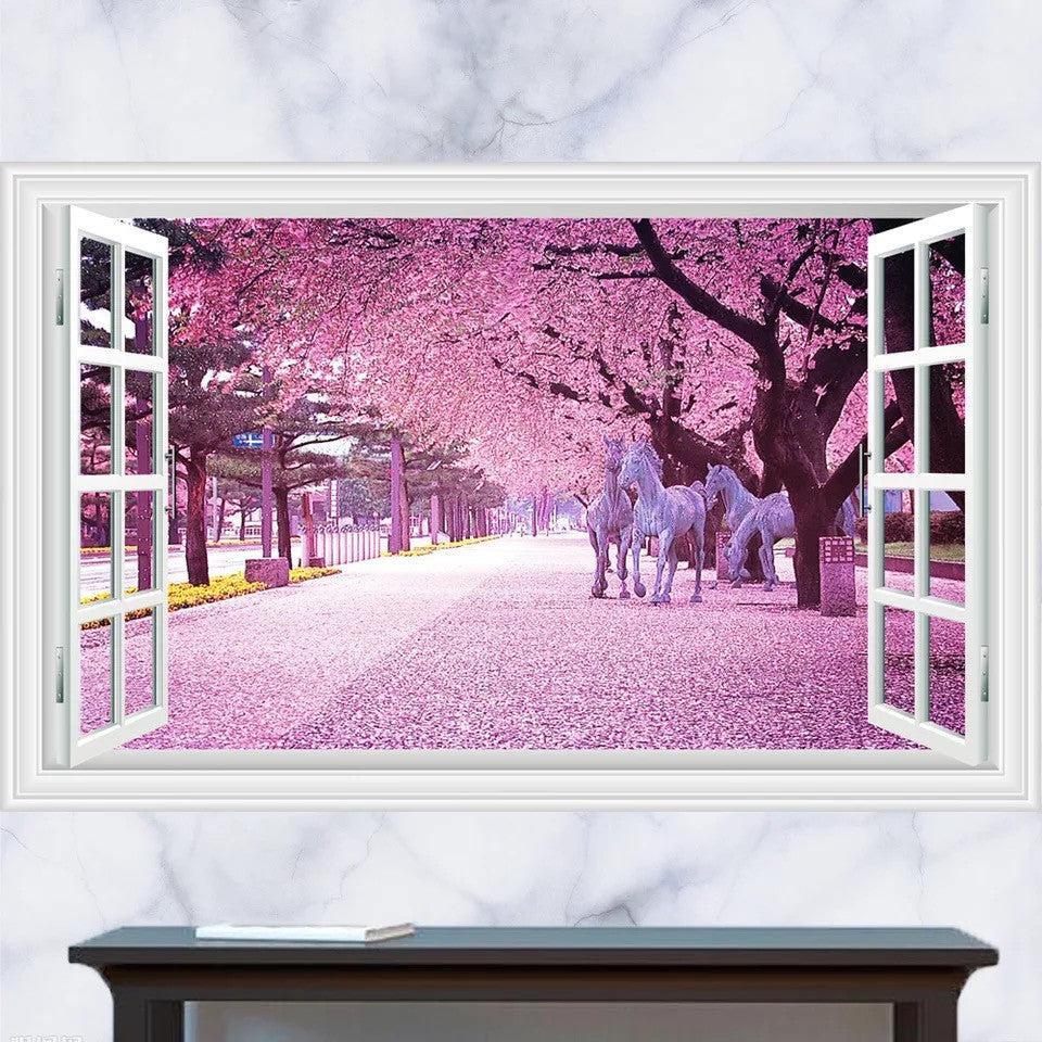 3D Window Wall Decals & Wall Stickers
