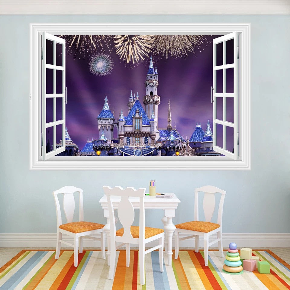 Disney Castle Wall Stickers