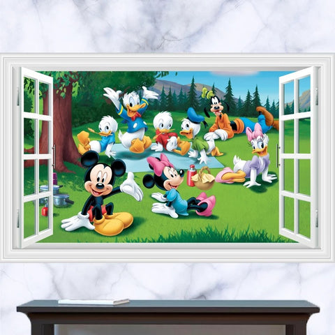 Mickey & Friends Peel and Stick Decals
