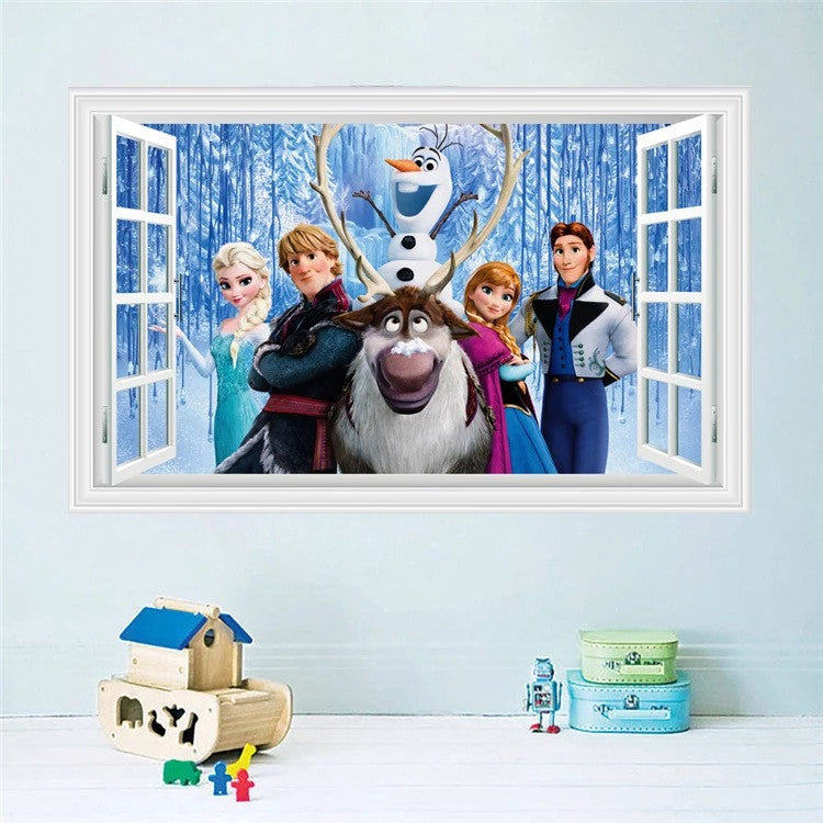 Disney Frozen Characters Wall Decals