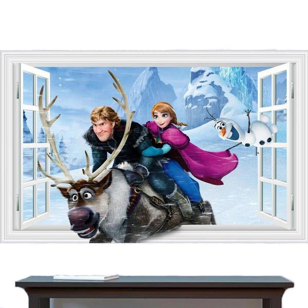 Disney Frozen Anna Wall Stickers