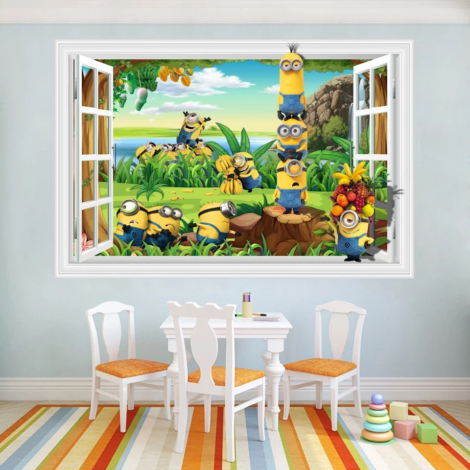 Minions  Wall Stickers