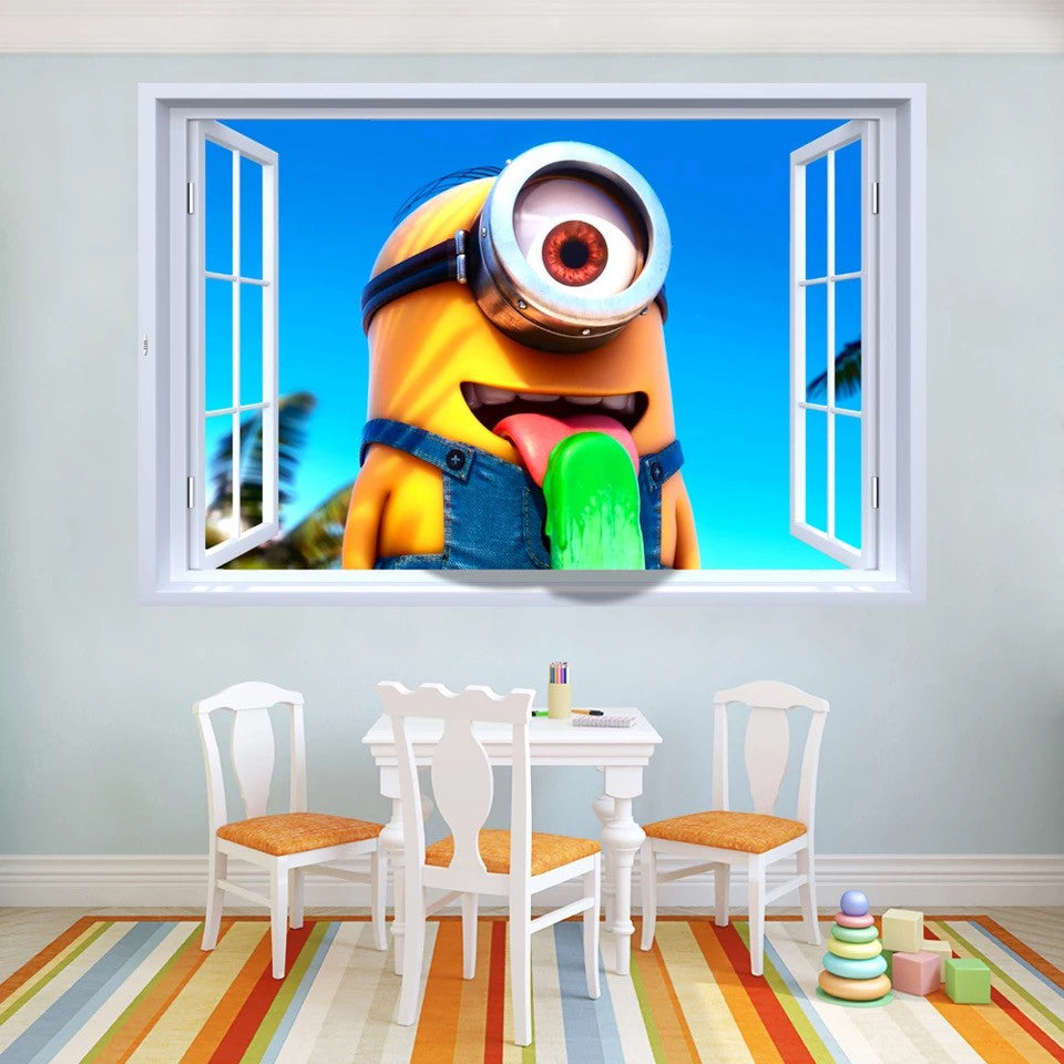 Minions Wall Decal & Wall Stickers