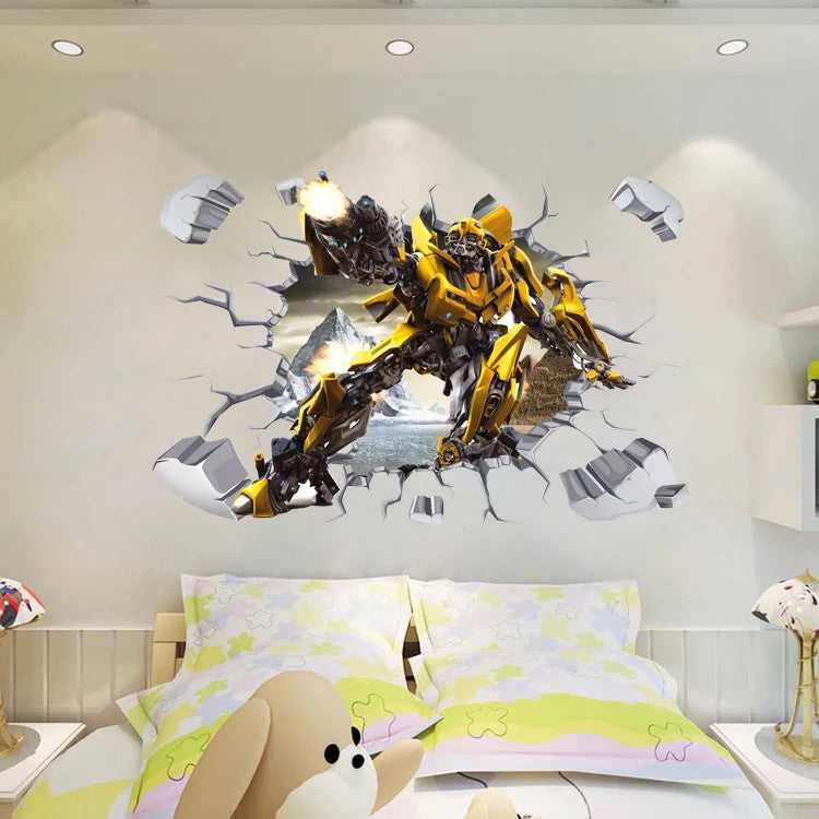 Transformers Bumblebee Wall Stickers