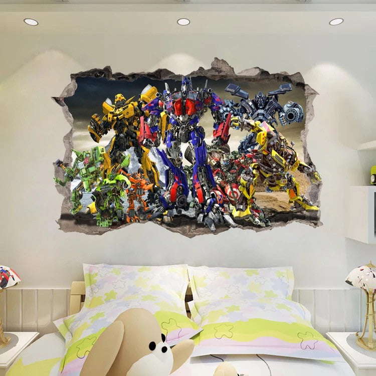 Transformers Wall Stickers & Transformers Wall Stickers u2013 the treasure thrift