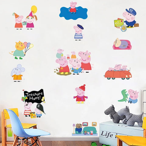 piggy Paige Wall Decals & Wall Stickers