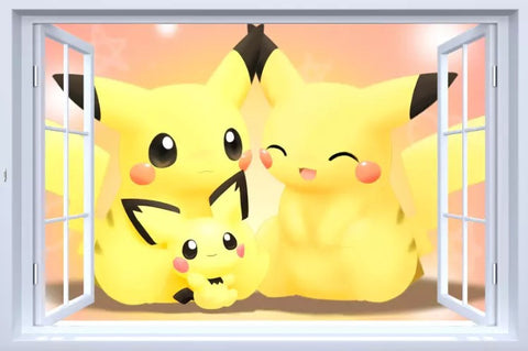 Pikachu Wall Stickers