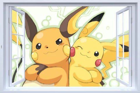 Pikachu Wall Decals