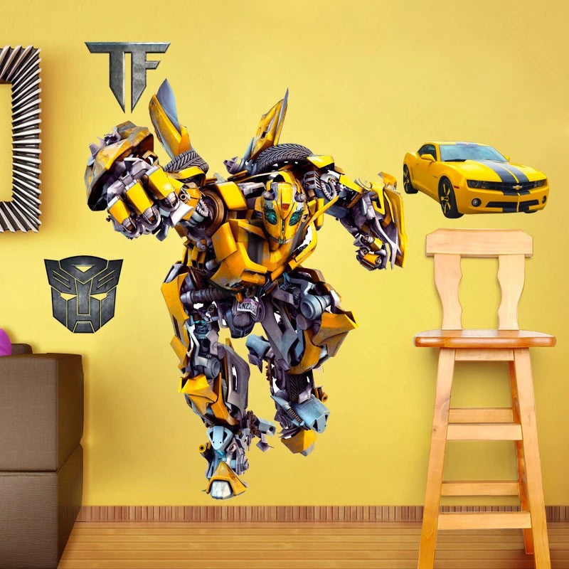 Transformers Bumblebee Wall Decals & Transformers Bumblebee Wall Decals u2013 the treasure thrift