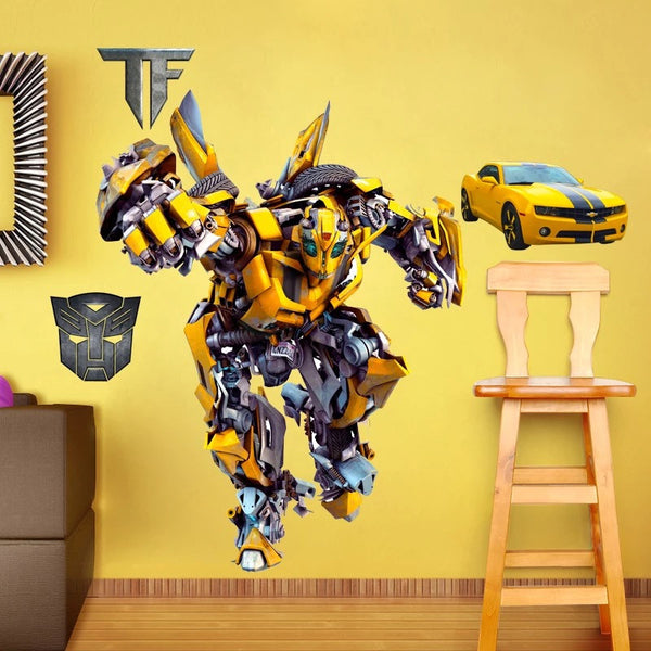 Transformers Bumblebee Wall Decals The Treasure Thrift