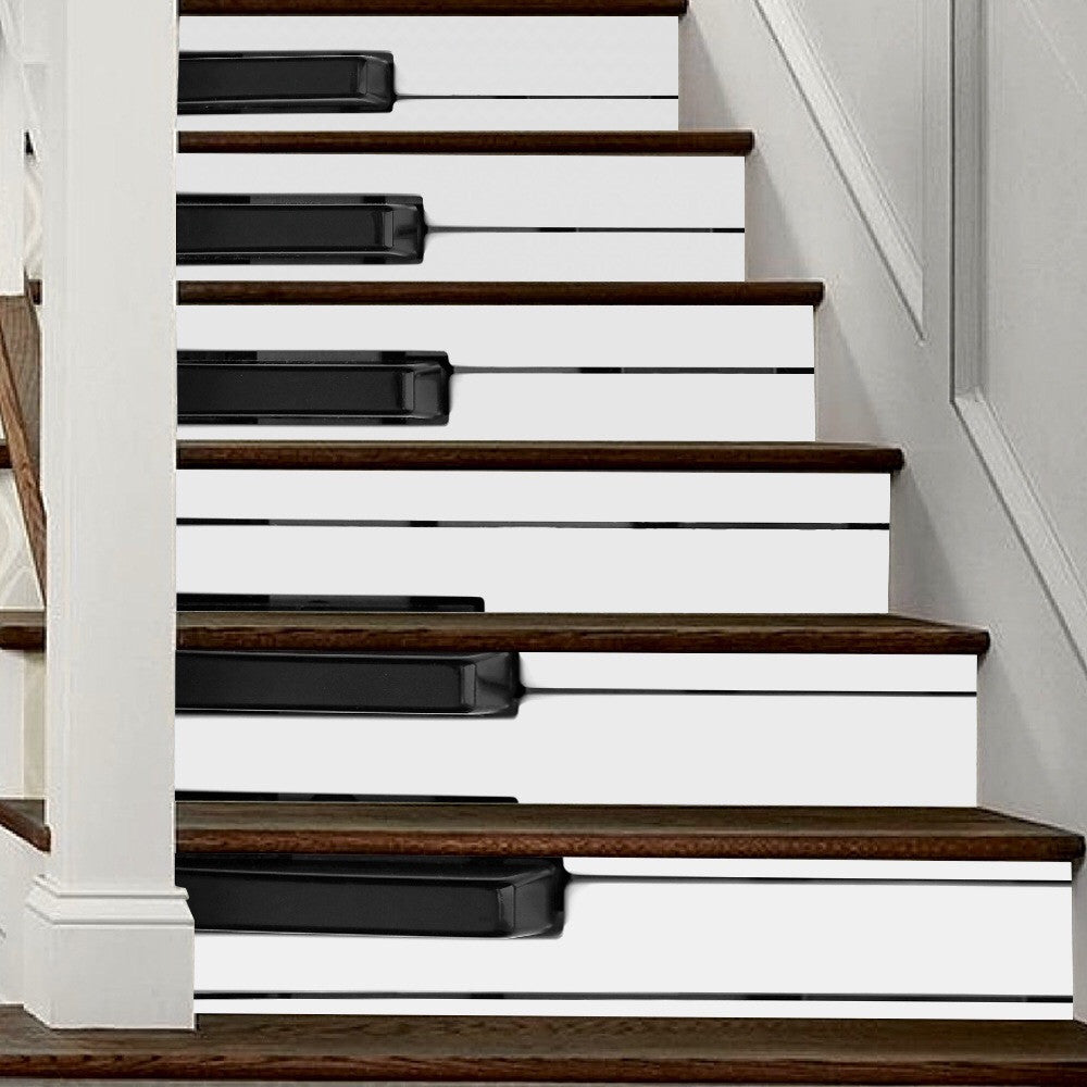 Piano Keys Steps Stair Stickers