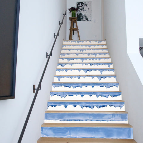 Icicle Steps Stair Stickers