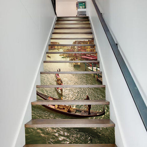 Grand Canal Steps Stair Stickers