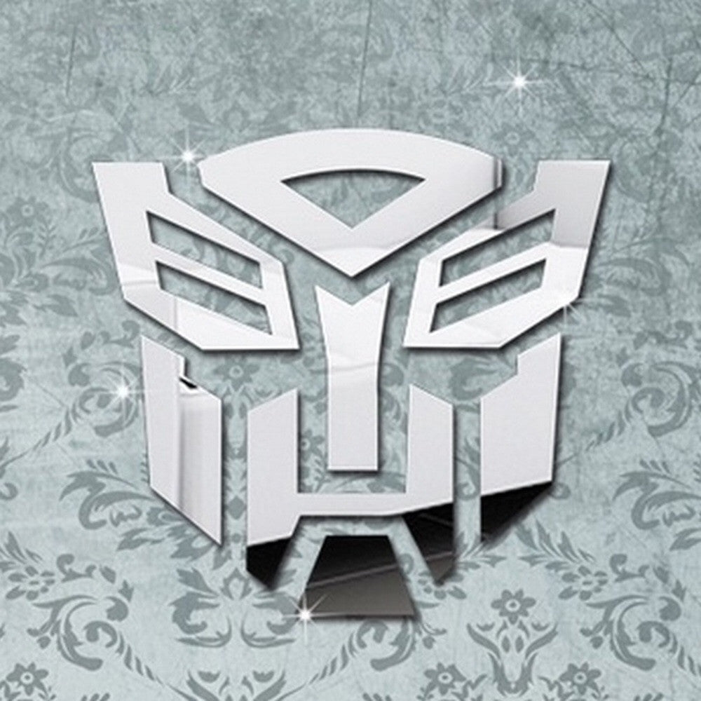Transformers Mirror Wall Decals