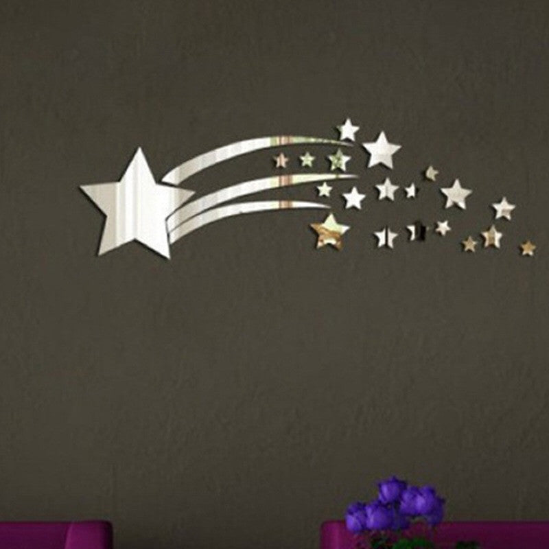 Little Star Mirror Wall Decals