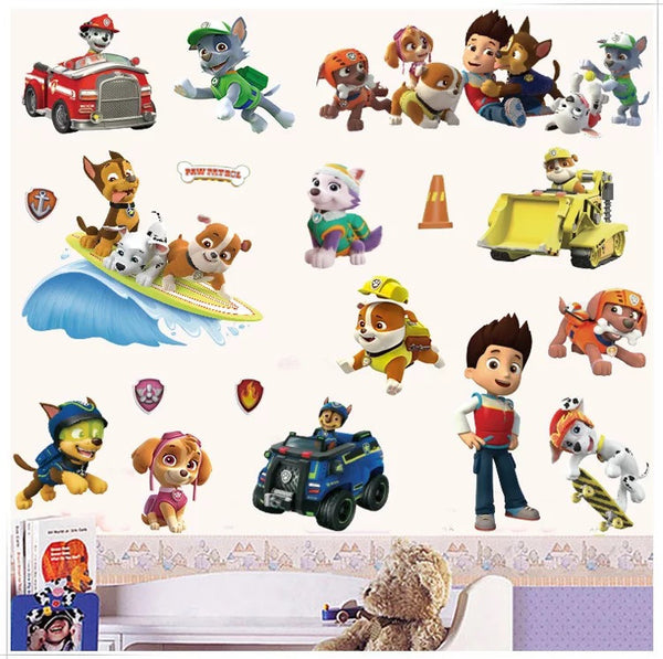 Paw Patrol Wall Decals The Treasure Thrift