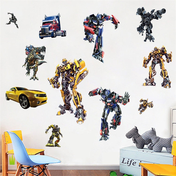 Transformers Wall Stickers
