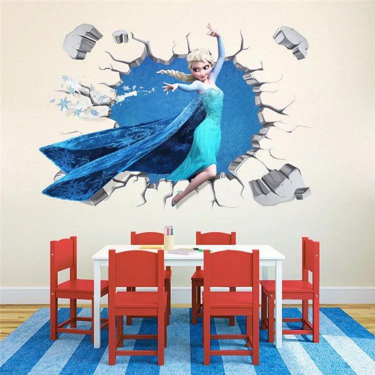 Disney Frozen Princess Elsa Wall Decals