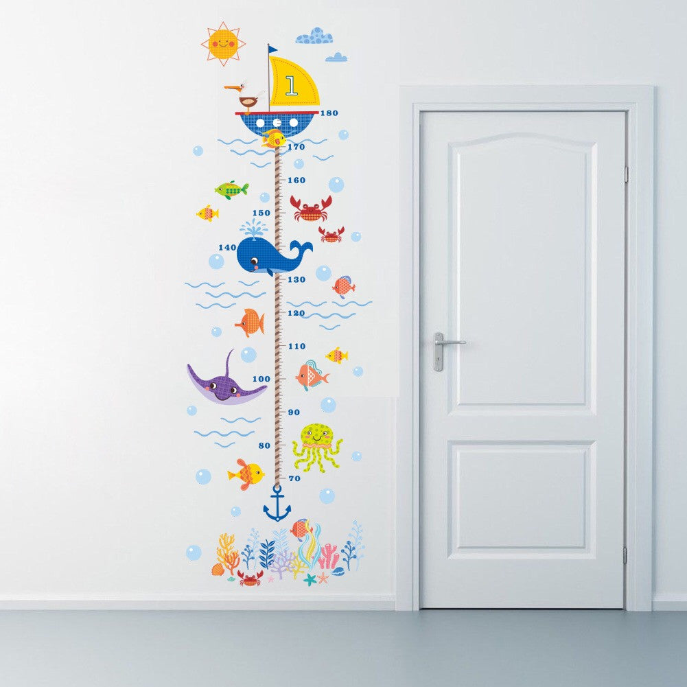 Growth Height Chart Wall Sticker