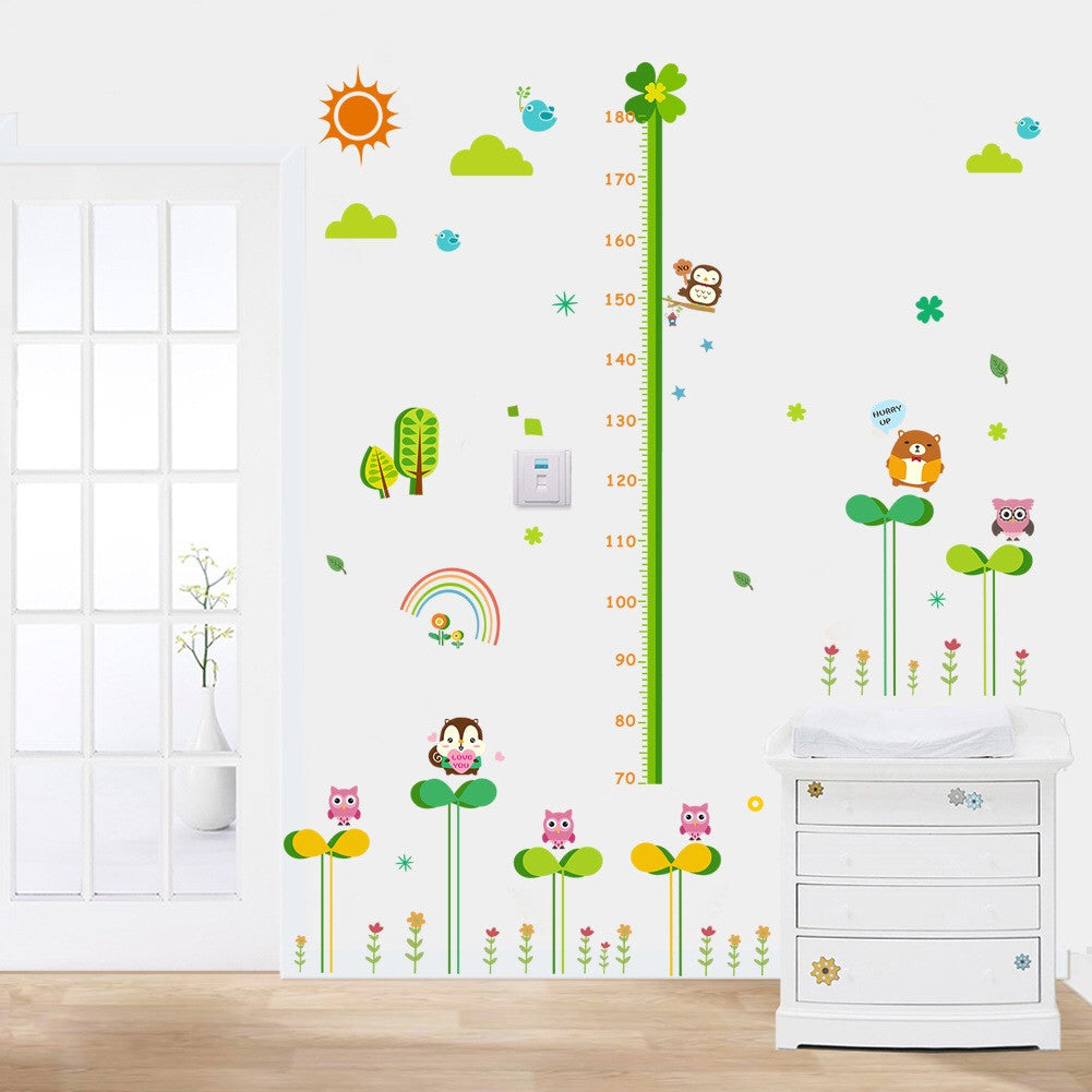 Nursery Growth Height Chart Wall Sticker