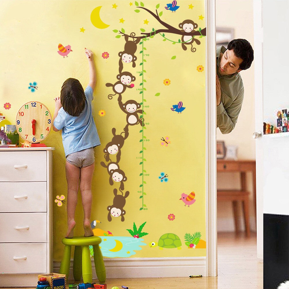 Kids Growth Height Wall Decal