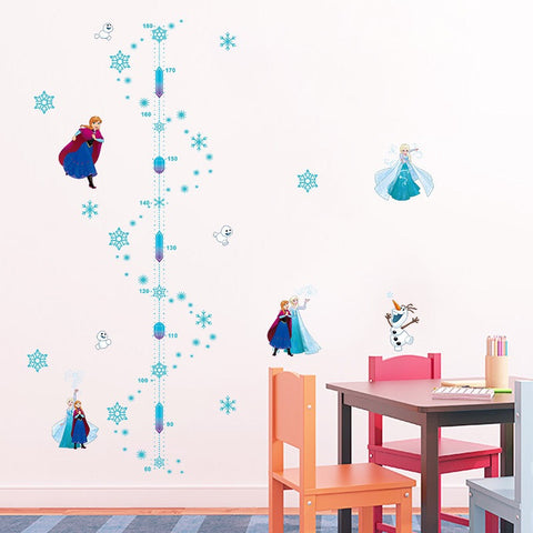 Disney Frozen Anna Height Chart Wall Sticker