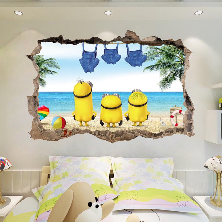 minions wall decals – the treasure thrift