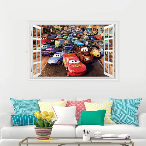 Disney Cars peel and stick Wall Stickers
